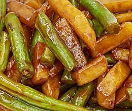 刀豆炒土豆的做法