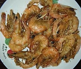 香酥炸大虾的做法