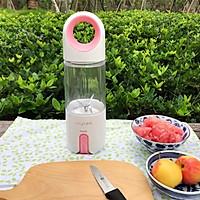 蜂蜜花红柚子汁的做法图解4