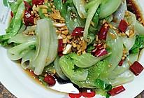 蒜蓉蚝油白灼生菜的做法