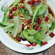 蒜蓉蚝油白灼生菜