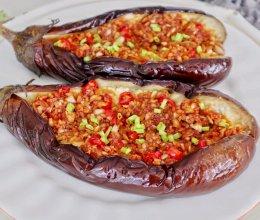 #入秋滋补正当时#烧烤必点蒜蓉烤茄子的做法