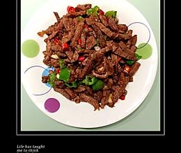 干炒回锅牛肉的做法