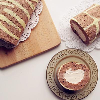 斑纹蛋糕卷