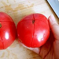 西红柿打卤面的做法图解2