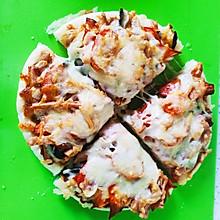 空气炸锅烤披萨(自制披萨酱)
