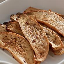 健康低卡家常菜——素烤杏鲍菇