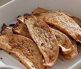 健康低卡家常菜——素烤杏鲍菇的做法