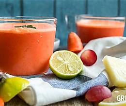 让眼睛更明亮的蓝莓胡萝卜汁的做法