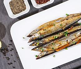 烤秋刀鱼(烤箱版)的做法