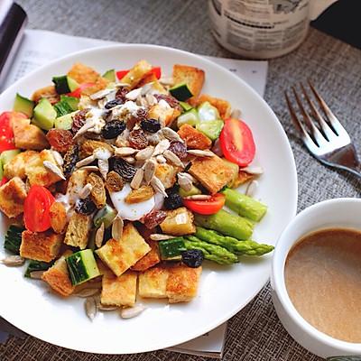 全麦吐司蔬菜沙拉