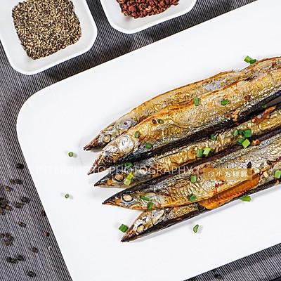 烤秋刀鱼(烤箱版)