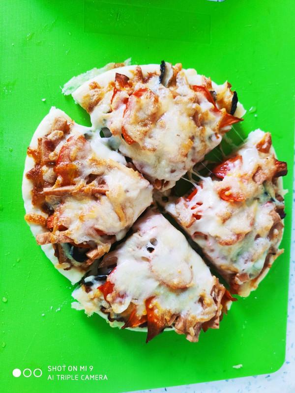 空气炸锅烤披萨(自制披萨酱)的做法