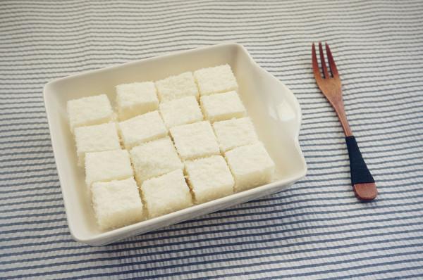 椰蓉椰奶糕的做法
