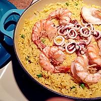 意大利海鲜烩饭(铸铁锅版、也可以用不粘锅)的做法图解8