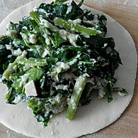之菠菜豆腐盒子#利仁电饼铛试用#的做法图解8