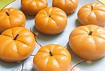 【绿色美食】超级简单的可爱南瓜饼~的做法