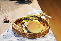 小食|新手零失败的日式甜品-抹茶蜜豆铜锣烧的做法