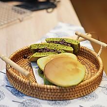 小食|新手零失败的日式甜品-抹茶蜜豆铜锣烧