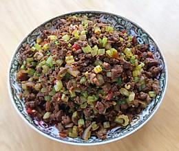 鲜嫩去腥有妙招,芹菜炒牛肉香辣又下饭的做法