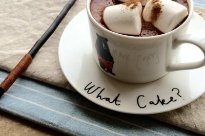 冬日热巧克力