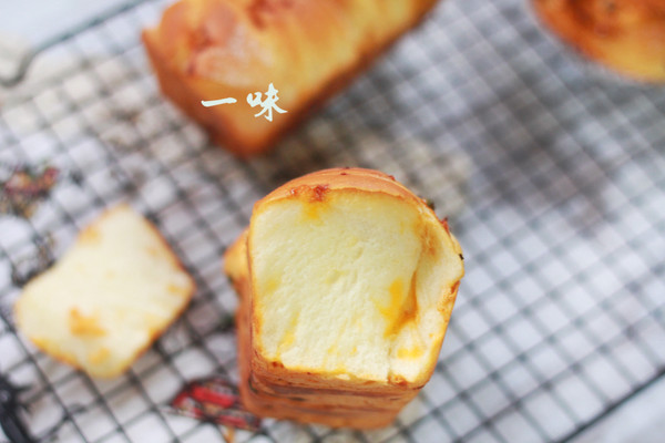 像蛋糕一样的面包-----最佳CP沙拉肉松及其他内涵