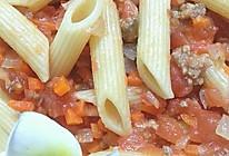 番茄酱意大利通粉的做法
