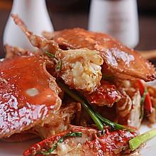 姜葱炒梭子蟹