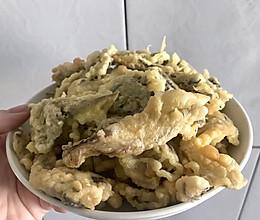 软炸鲜蘑的做法