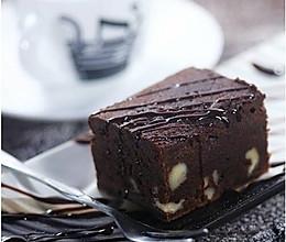 巧克力布朗尼蛋糕的做法