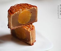 露浓霜简-蛋黄白莲蓉月饼的做法