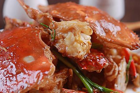 姜葱炒梭子蟹的做法