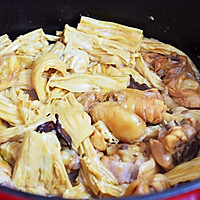 #做道好菜,自我宠爱!#鸡块炖腐竹的做法图解16