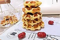 #肉食者联盟#红枣华夫饼|玉米面版#麦子厨房早餐机#的做法