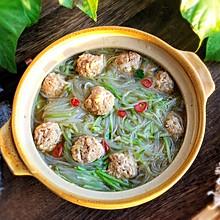 #钟于经典传统味#萝卜丝肉丸汤