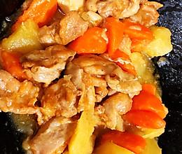 【奥尔良土豆炖鸡块】快手版的做法