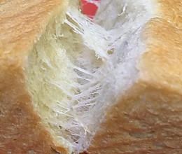 北海道香浓土司 娟妃100%中种(面包机版)的做法