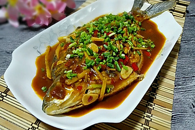 红烧鳊鱼#春天就酱吃#