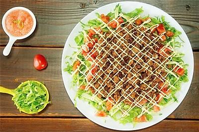 墨西哥肉酱饭丨taco也能做成饭吃?【微体兔菜谱】
