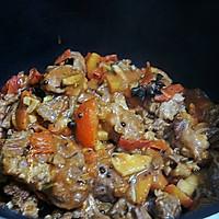 牛肉炖柿子 #520,美食撩动TA的心#的做法图解6
