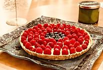 卡仕达树莓挞#爱好组-低筋#的做法