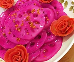 桂花胭脂藕的做法