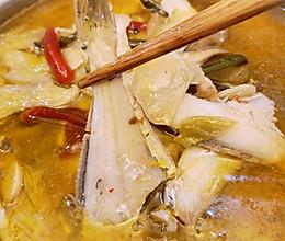 藤椒(泡椒)耗儿鱼的做法