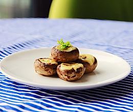 大快朵颐:芝士烤口蘑的做法