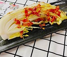 日式烤白菜色拉的做法