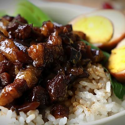想吃卤肉饭在家就能做,肥而不腻