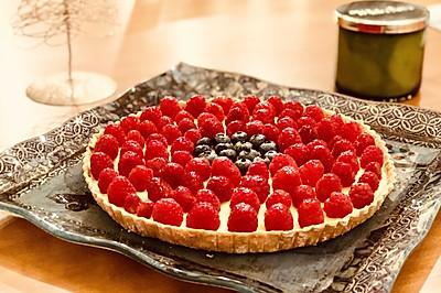 卡仕达树莓挞