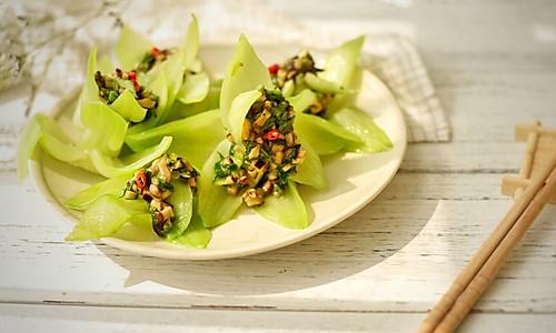 春色满园-香菇青菜的花式吃法#中粮我买,我是大美人#的做法