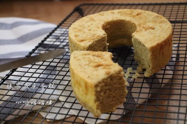 抹茶戚风蛋糕的做法