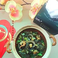 年菜四·瑞气吉祥【啫啫海参煲】 #洁柔食刻,纸为爱下厨#的做法图解18
